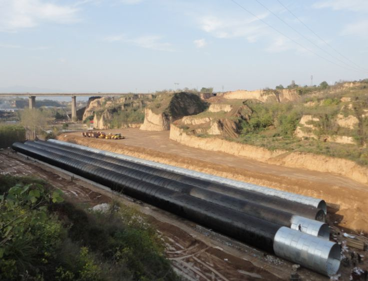 Corrugated steel drainage culvert manufacturer, Corrugated Steel Pipe supplier China