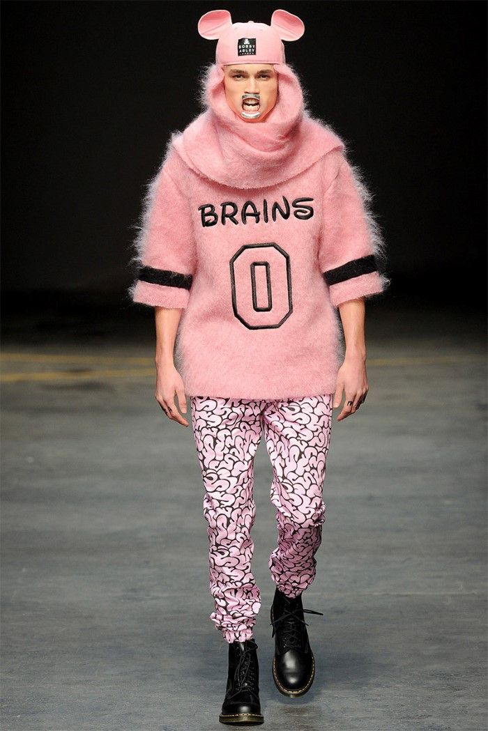 MAN : Bobby Abley – Collection Homme Automne/Hiver 2014 – Londres