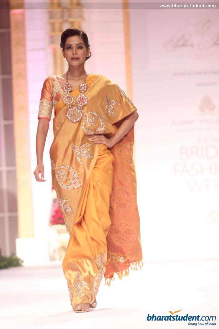Sari by Pallavi Jaikishan at Aamby Valley City India Bridal Fashion Week 2013