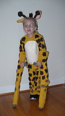 Adorable Giraffe Costume for crutches :]