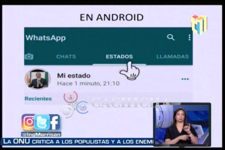 Hiddekel Morrison: Los Estados Del WhatsApp Y Riesgo Que Representa Para Tus Hijos
