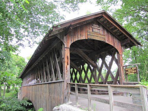 Schoharie Fox Creek Covered Bridge  Schoharie, NY
