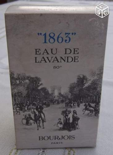 Ancien flacon parfum vide 1863 Lavande de Bourjois Collection Charente-Maritime - leboncoin.fr