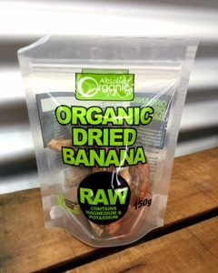 Organic Dried Banana Chips Absolute Organic