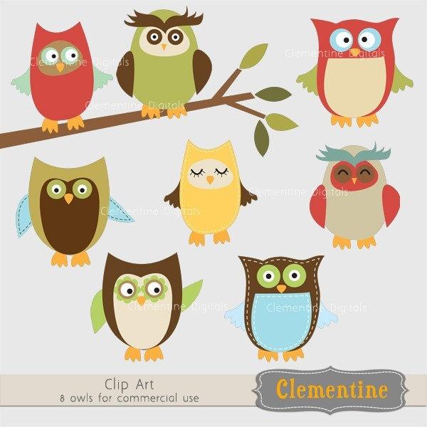 owl clip art pinterest - photo #29