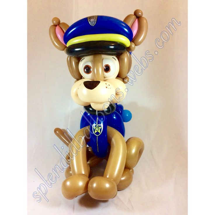 Paw, Patrol, chase, is on the case, puppy, police, cop, Candy, Cups Cute, Gifts, party favors, fun, Boys, and , Girls, Party Ideas, WOW, California, Funny, Cool, Amazing, Balloons, Party, Kids, Splendid, balloons, Art, Awesome, centerpieces, Balloon Twisting