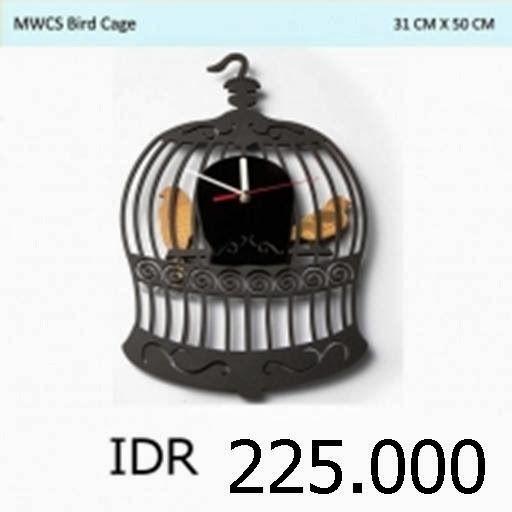 MWCS Bird Cage - GALLERY JAM DINDING UNIK