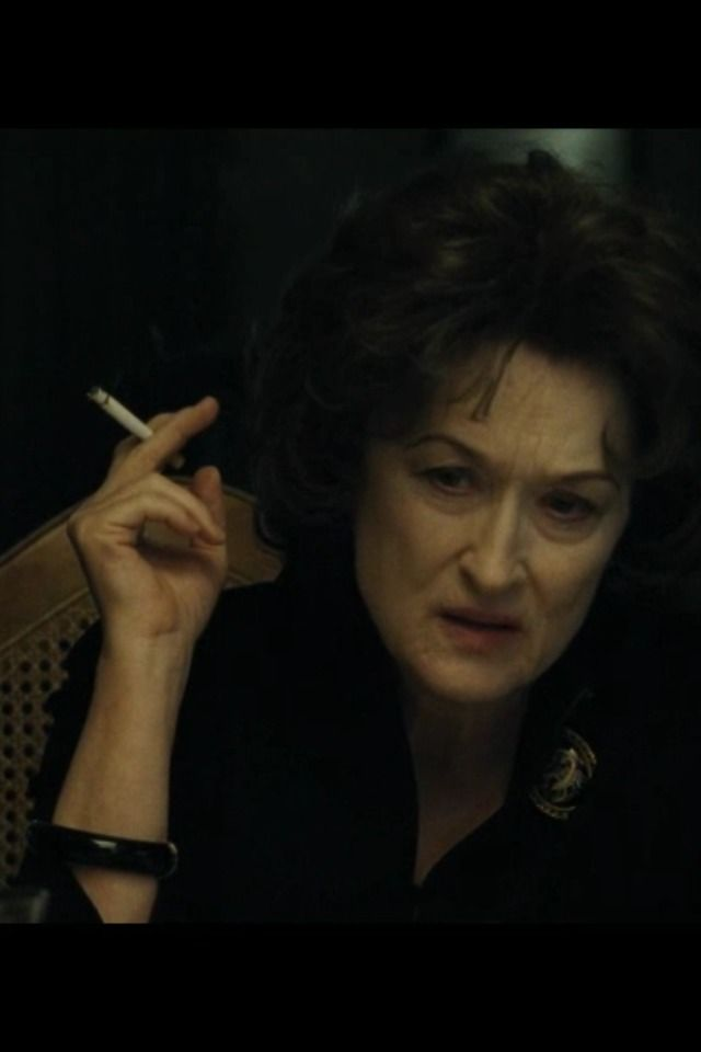 """The moment she (Meryl) stumbles on screen, face pale, hair shorn, voice slurred, you can picture Academy members reflexively writing her name on their Oscar ballots. This is Acting..."" ~ Glenn Whipp, ""Los Angeles Times"" on ""August: Osage County"" (2013)"