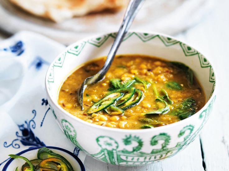 Schnelle Suppen - löffelweise Genuss im Handumdrehen - rote-linsen-suppe-hack  Rezept