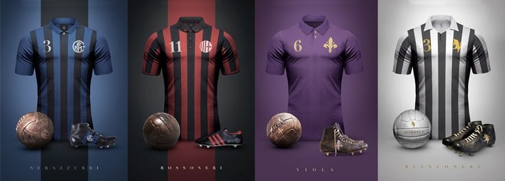 VINTAGE CLUB KITS created by Emilio Sansolini