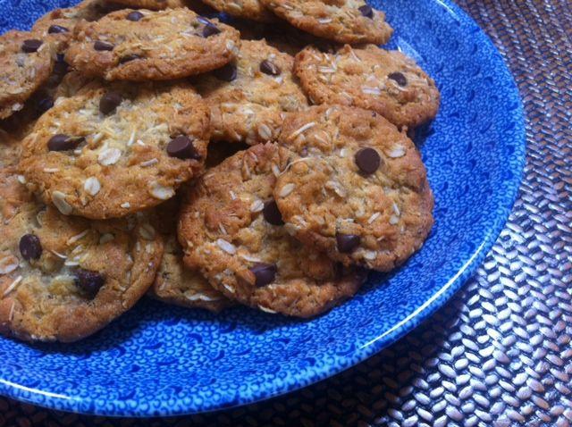 FROST BITE: Recipe: Choc chip ANZAC biscuits