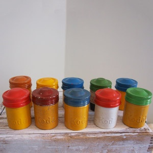 Kodak Film Canisters: Vintage Camera, Canisters 10Pk, Kodak Film, Metals Kodak, Film Canisters, Vintage Style