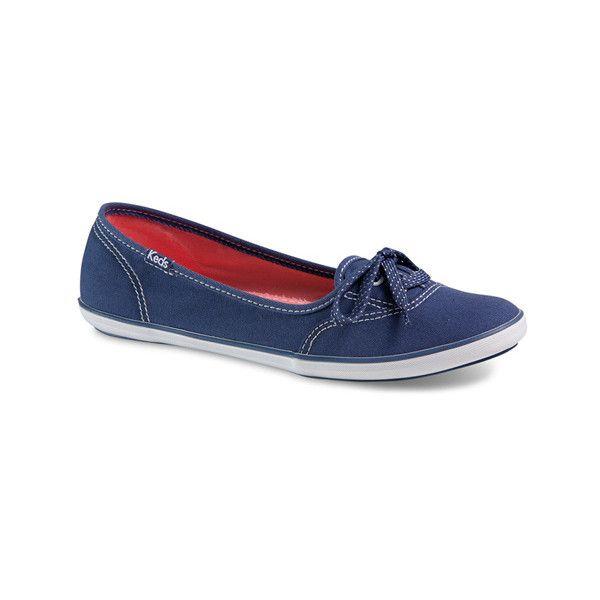 Keds Teacup featuring polyvore fashion shoes flats keds shoes slipon shoes keds flats flat heel shoes dot shoes
