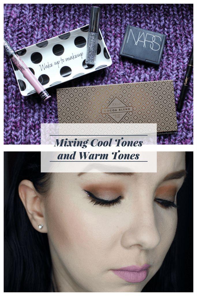 Mixing Cool Tones and Warm Tones - Zoeva Cocoa Blend Palette