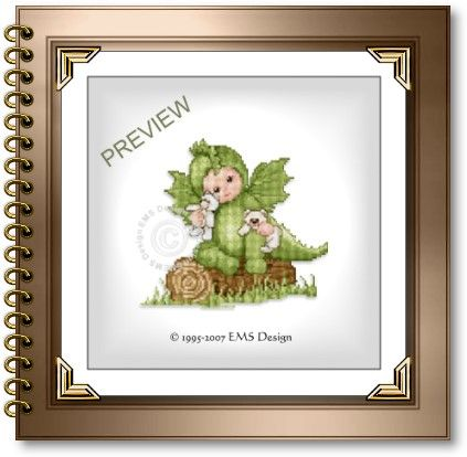 Cross Stitch Babies and Bears by EMS Design. The Fantasy Babies