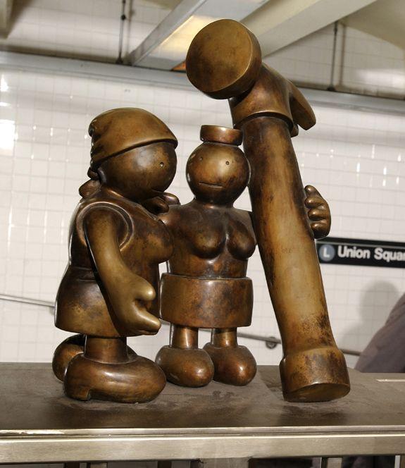 Tom Otterness - Life Underground