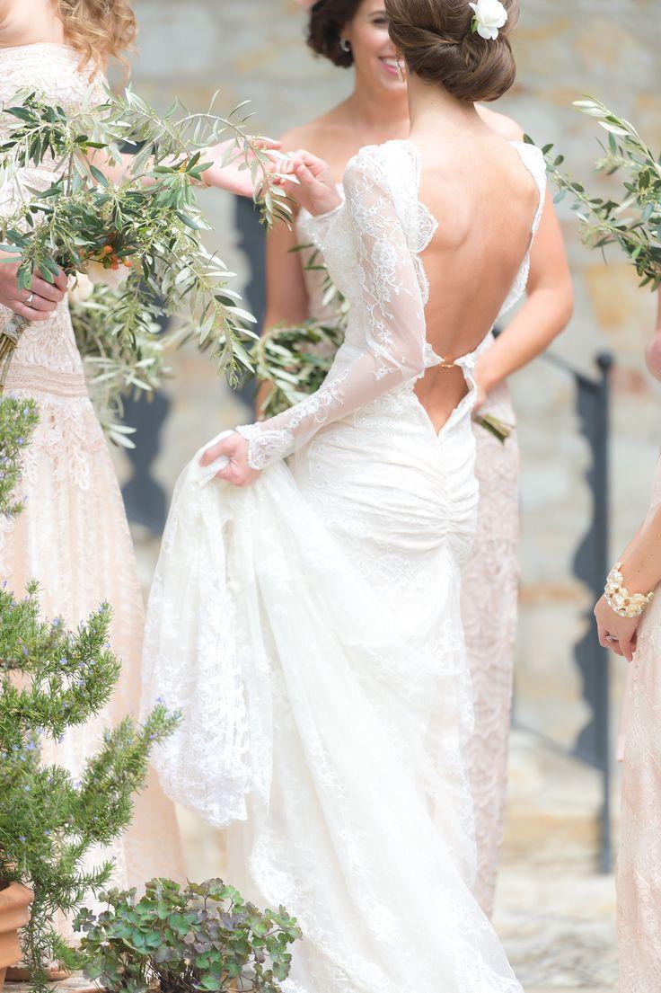 Autumn Wedding Dresses Ideas - Long Sleeved Wedding Dress | itakeyou.co.uk: