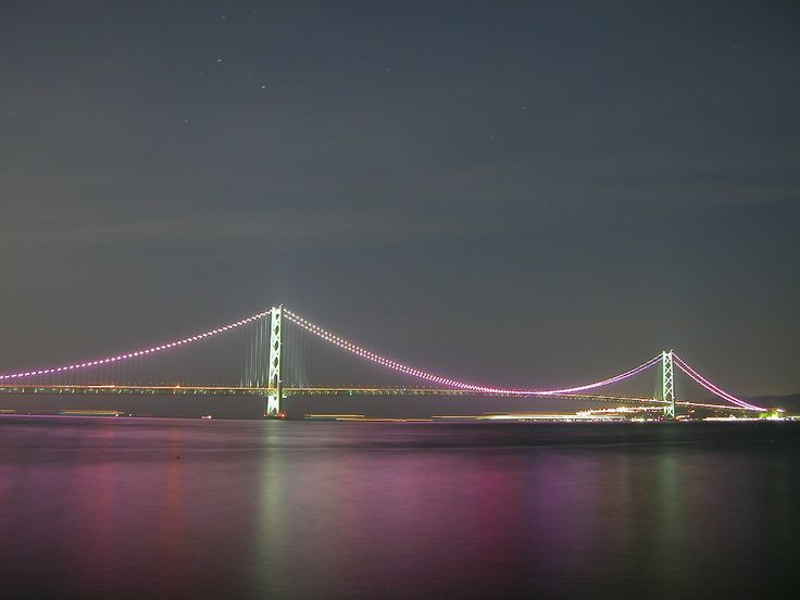 Image result for Akashi-Kaikyo Bridge countdown