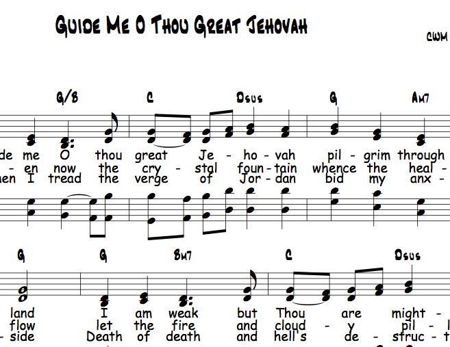 guide me o thou great redeemer pdf free