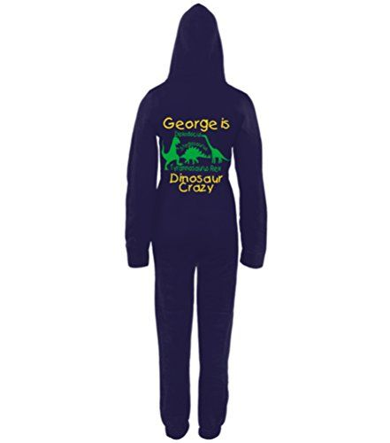 PERSONALISED DINOSAUR CRAZY' with NAME Navy Onesie Edward Sinclair http://www.amazon.co.uk/dp/B00NWD5BQK/ref=cm_sw_r_pi_dp_5rwhvb1059XSM