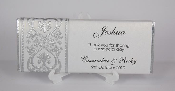 Personalised Wedding Gifts Melbourne : wedding chocolates wedding favours wedding gifts wedding decor wedding ...