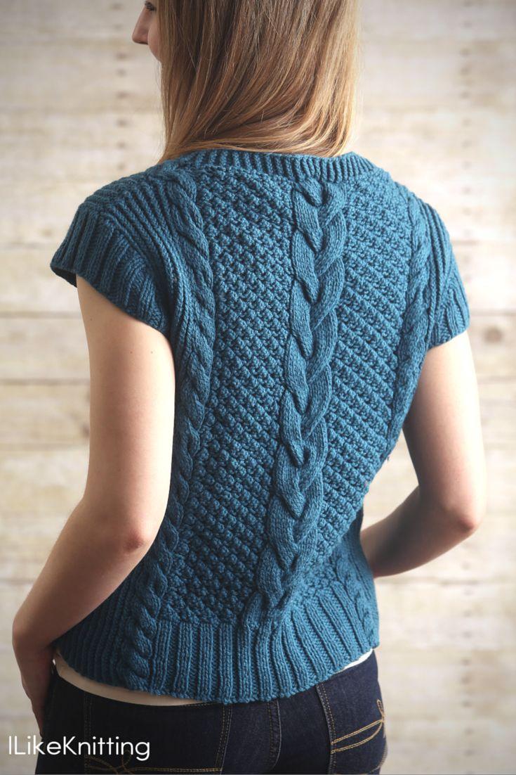33 besten Knit Tops Bilder auf Pinterest | Muster für tops ...