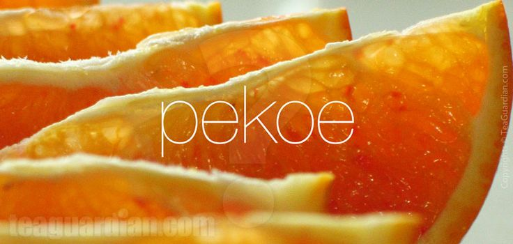What is Orange Pekoe? This explains it all.