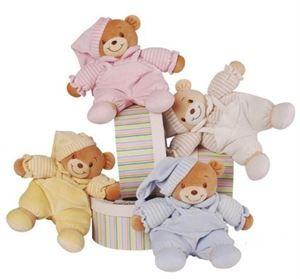 Teddy in a Box | http://www.flyingflowers.co.nz/soft-cotton-teddy-in-a-box