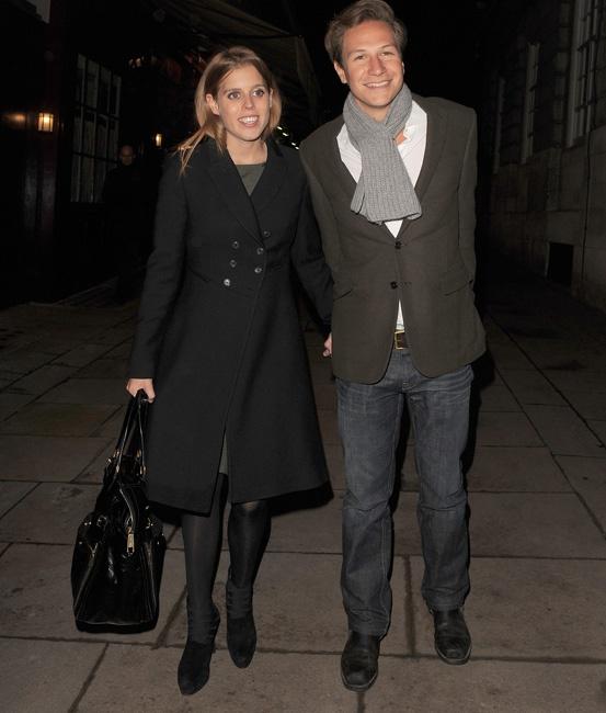 Princess Beatrice with boyfriend Dave Clark Latest