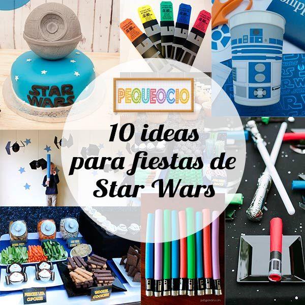 ideas para fiestas infantiles de star wars