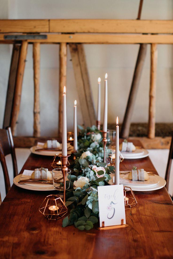 Rustikale Inspirationen für die Boho Hochzeit