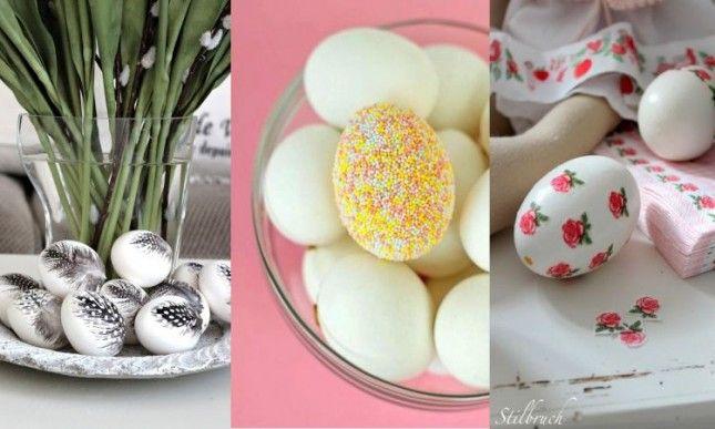 Úžasná velikonoční vajíčka - inspirujte se