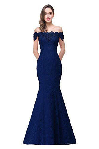 New Trending Formal Dresses: Womens Prom Dresses Lace and Beaded Off-Shoulder Mermaid Evening Dress ,Navy,8. Women's Prom Dresses Lace and Beaded Off-Shoulder Mermaid Evening Dress ,Navy,8  Special Offer: $63.99  222 Reviews We always try to supply the high quality dresses with the best prices. This new short prom dress is the perfect for parties or other special occasions where you...