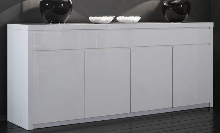 Tolle sideboard hochglanz weiß 200 cm
