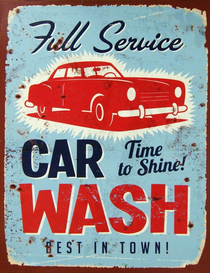 Car Wash Sign Wall Decor