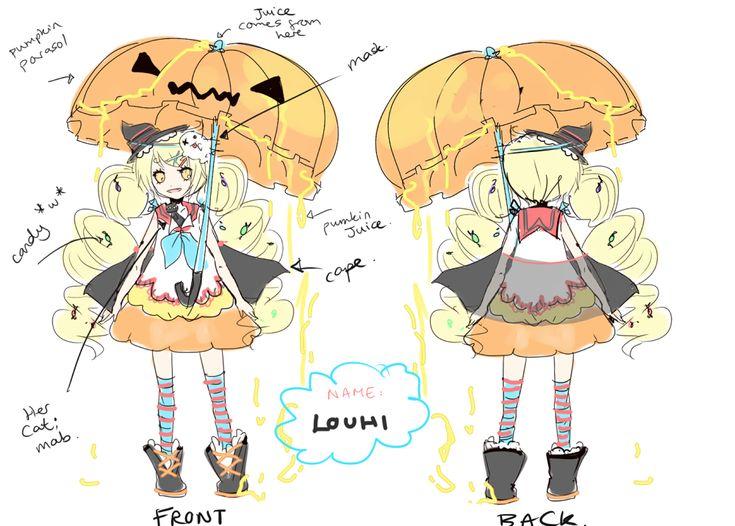 Louhi Character Design Sheet by LuluSeason on deviantART