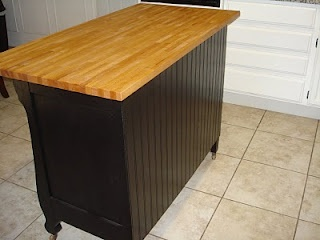 DIY dresser to a kitchen island, or what about a peninsula of butcher block? For the Home ...
