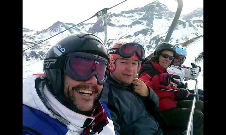 Esquiando en Formigal