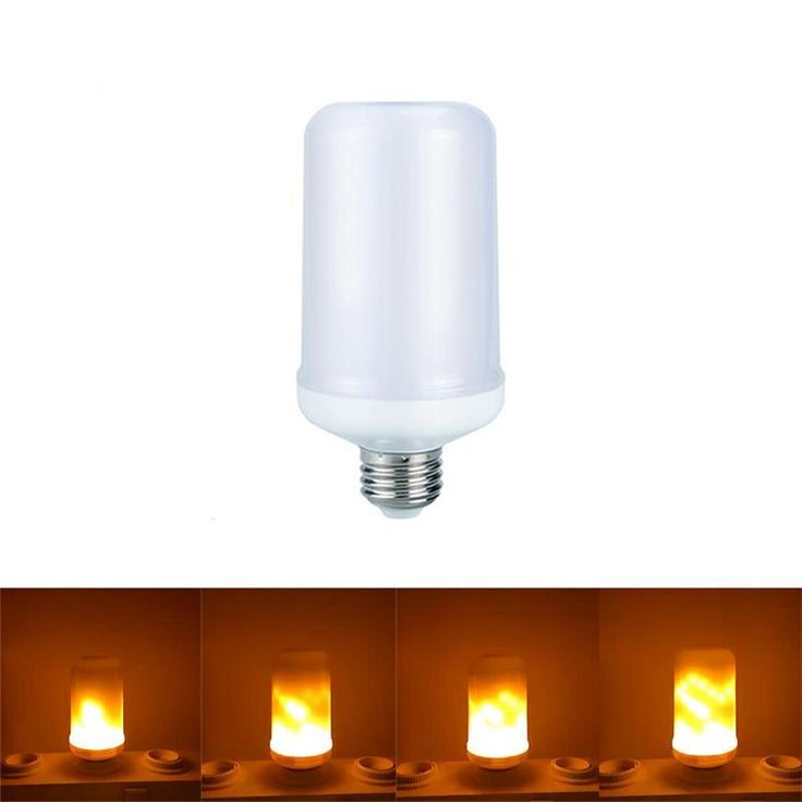 The LED Flaming Bulb will light up your life in ways that you probably never experienced before! With its orange flame hue, it's the perfect adornment for homes