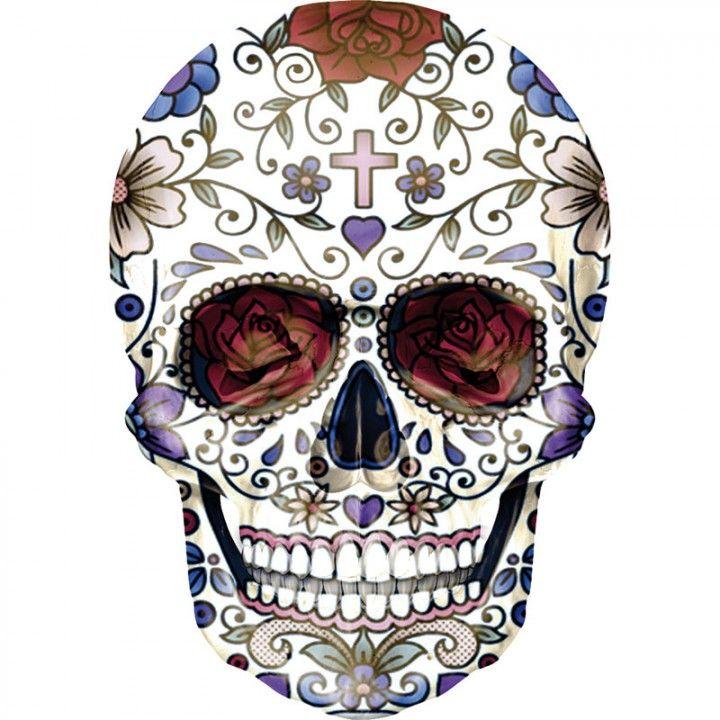 sugar skull | Dia de los Muertos | Pinterest