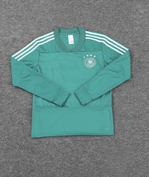 Germany 2018 Green Football Sweater Top [L552]
