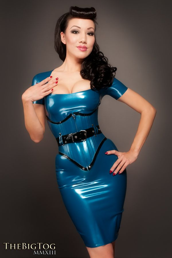 Jade Vixen: (Adult 18+) Latex & Leather Makes Everything