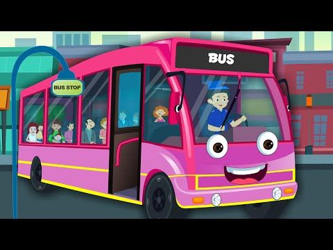 Wheels On The Bus | Nursery Rhymes For Kids And Children - YouTube