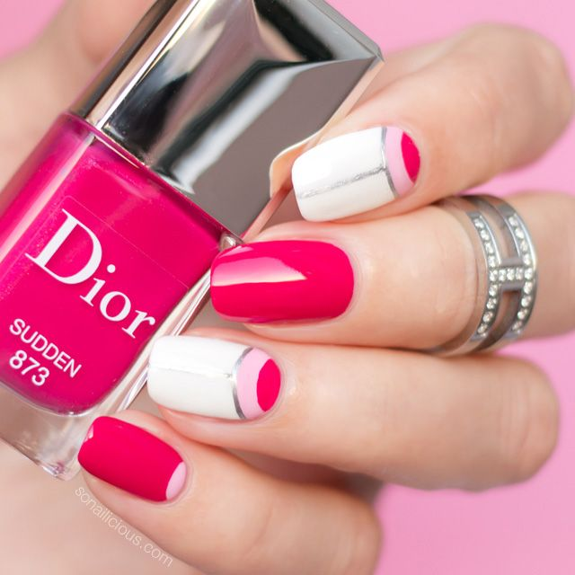 Dior Sudden - such a beautiful pink nail polish!