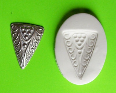 3 SIDED TRIBAL ETHNIC DECOR ~ CNS polymer clay mold