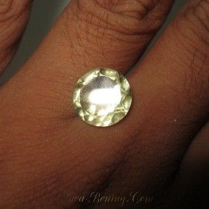 Round Lemon Quartz 4.40 carat