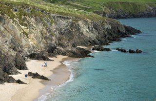 Plage de Coumeenoule, Péninsule de Dingle, Kerry, Irlande