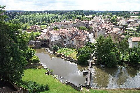 Parthenay, France--This was one of my favorite spots in the town