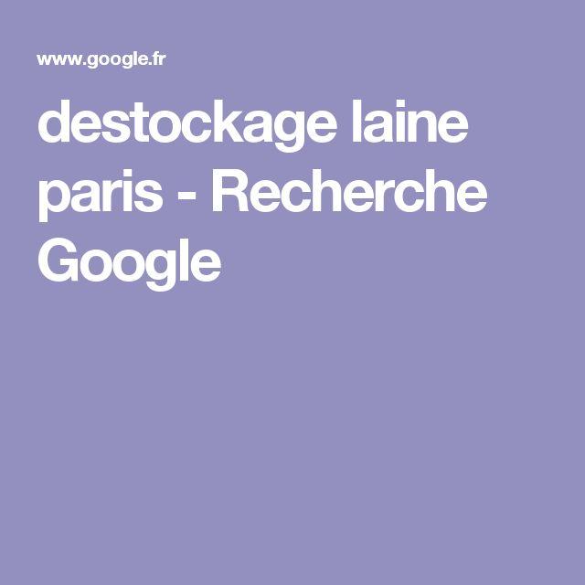 destockage laine paris - Recherche Google