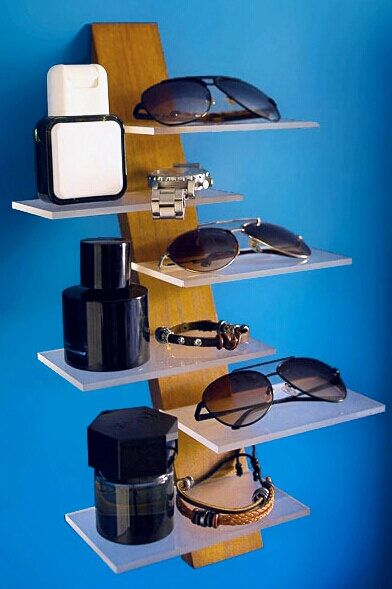 MoiseDesign: Wall-mounted sunglasses and accessory by MoiseDesign